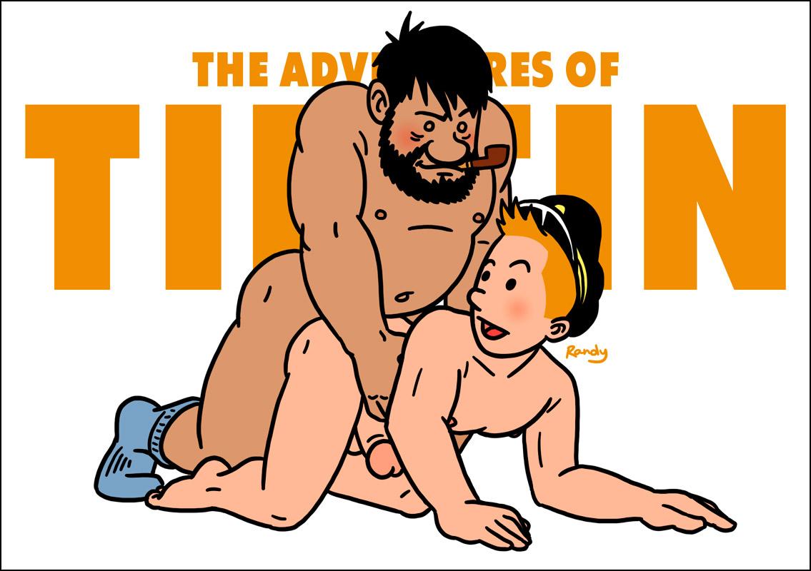 Tintin porn