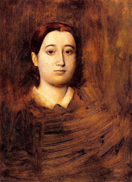 Эдгар Дега - Портрет мадам Эдмондо Морбилле (1865)