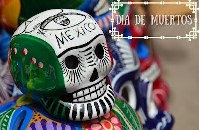 calavera adornada mexicana