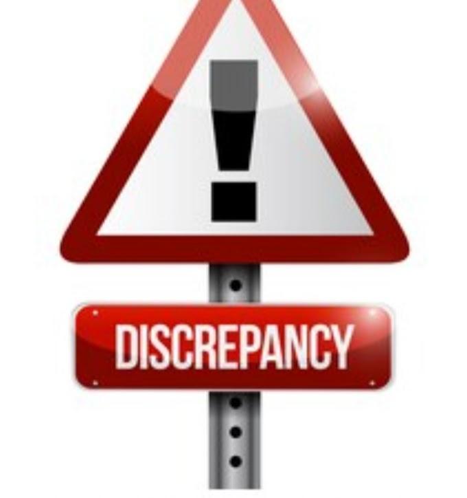 Discrepancy Report