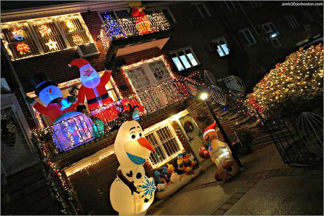 Luces y Decoraciones Navideñas de Dyker Heights, Brooklyn