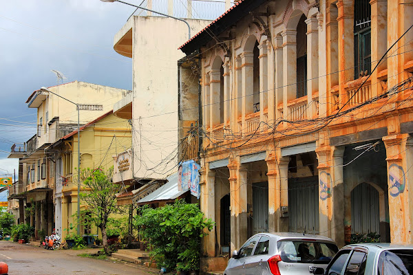 Plaza Talat Yen de Savannakhet