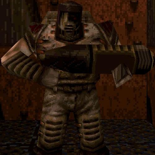 Quake Enemigos Enforcer