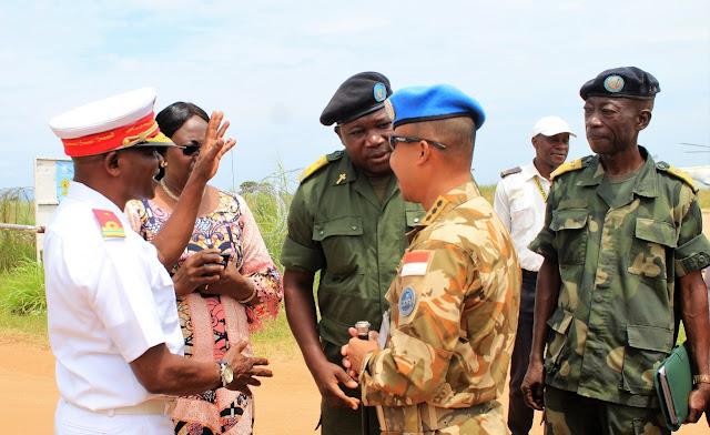 Pasukan Garuda Jalin Akrab Dengan FARDC Congo