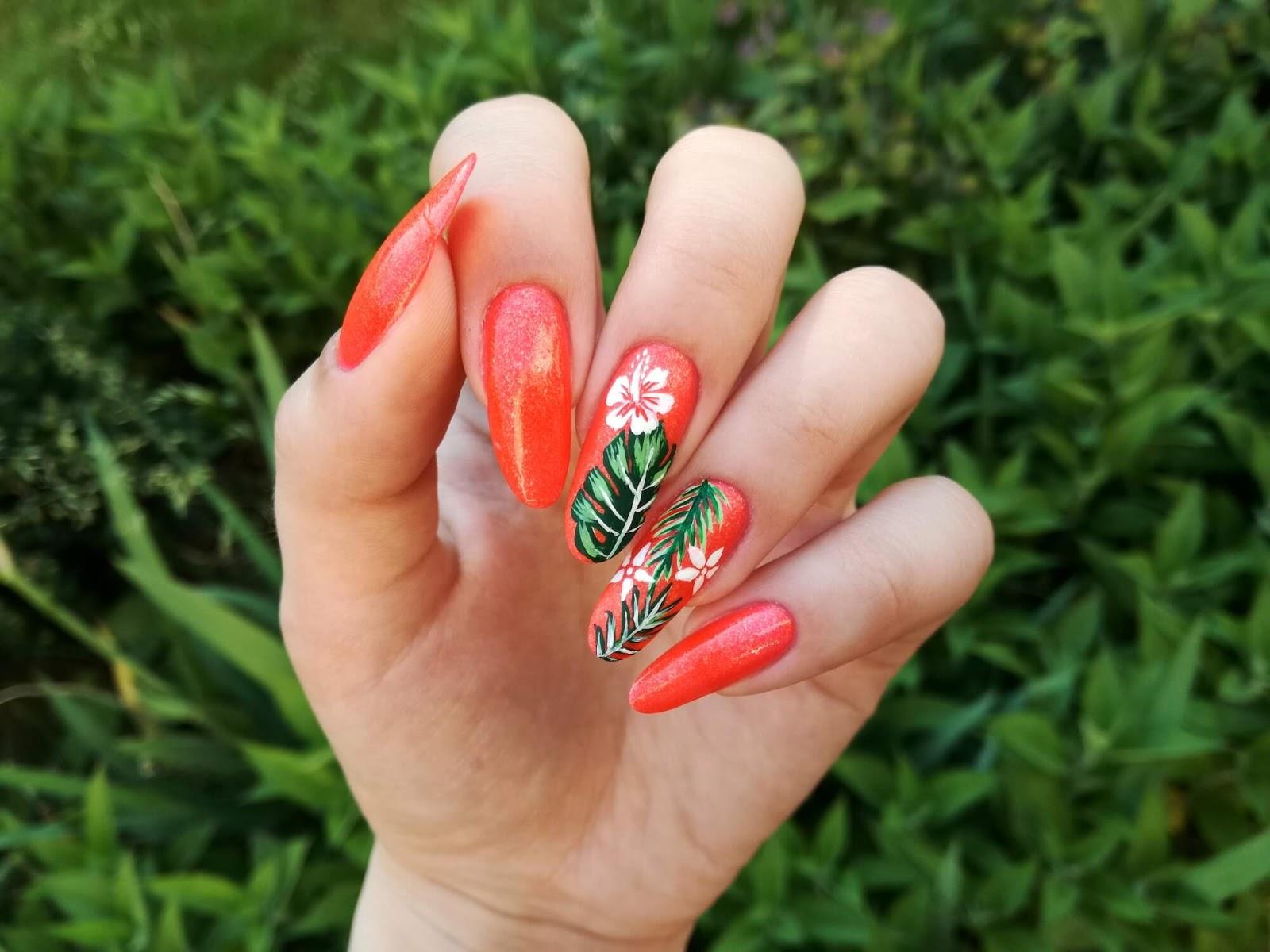 paznokcie tropikalne