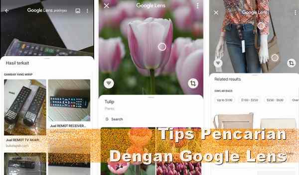 Mencari nama barang dengan Aplikasi Google Lens