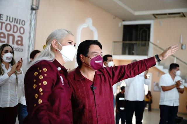 Morena va a dar la sorpresa en Yucatán: Mario Delgado