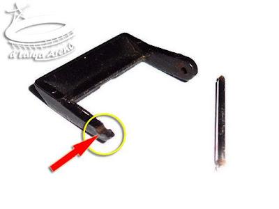 bagian klip pengunci patah