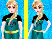 Elsa do Frozen va al gimnasio