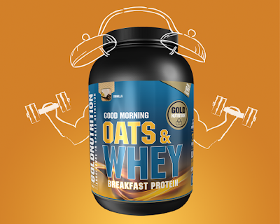 Oats & Whey - Breakfast Protein