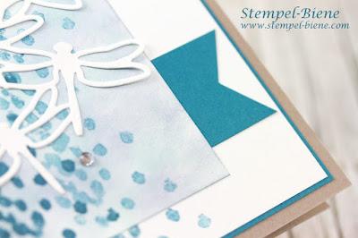 stampinup Libelleien; Geburtstagskarte Libellen, stampinup Karte; schattierungen Libellen; Libellenkarte; Geburtstagskarte basteln; stampinup Demonstrator werden; matchthesketch
