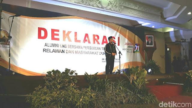 Yusuf Mansyur Ajak Relawan Jokowi Doakan Prabowo Bisa Berkoalisi