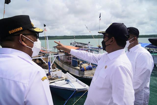 Sakti Wahyu Trenggono Sebut SKPT Saumlaki Jadi Pendorong Ekonomi di Selatan Maluku.lelemuku.com.jpg