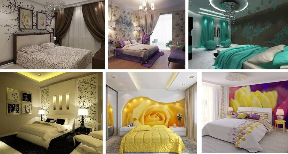 Stylish Wallpaper Designs For Bedroom. Dwell Of Decor  Stylish Wallpaper Designs For Bedroom