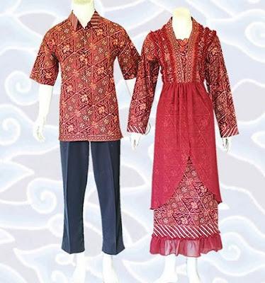 Gambar Model Baju Batik Kombinasi Sifon Terbaru