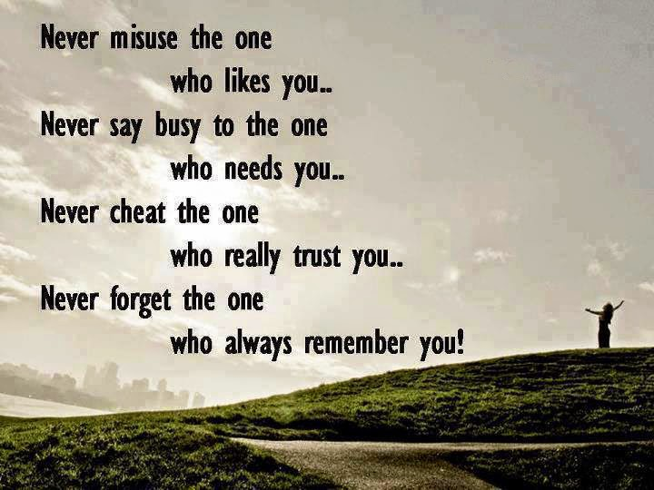 Love Quotes For You Never Misuse The One Who Like You Latest