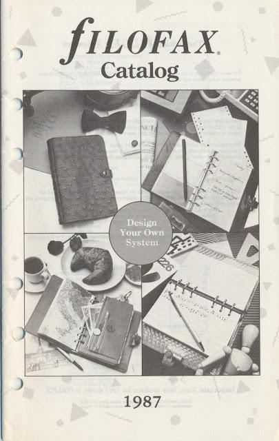 Londonhouse Corporation Filofax 1987 Catalogue