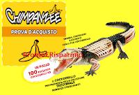 Logo Chimpanzee premia la tua fedeltà: vinci 100 Coccodrillo 4D (valore circa 60€)