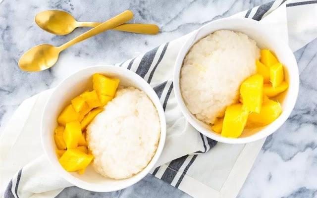 Xôi xoài – Sticky rice Mango