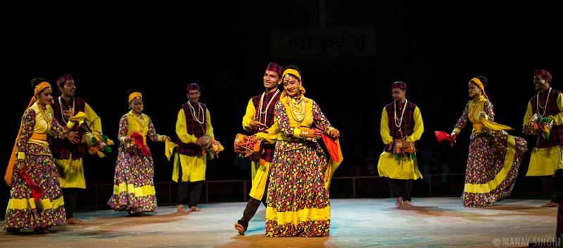 Chappelli Folk Dance from Uttarakhand.