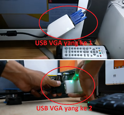 Cara membuat satu CPU komputer menjadi banyak monitor dengan fungsi yang berbeda