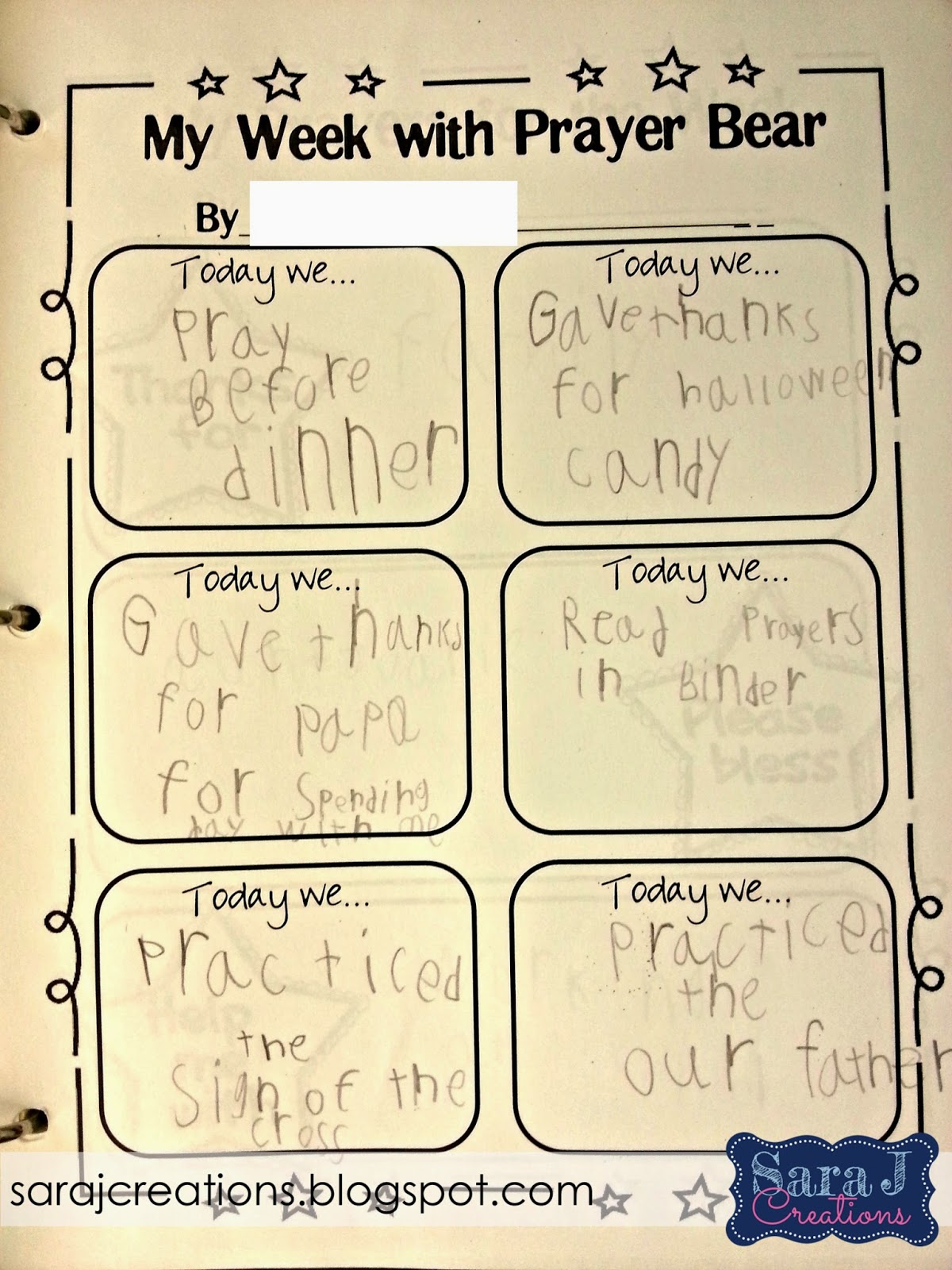 motivating younger students to pray sara j creations