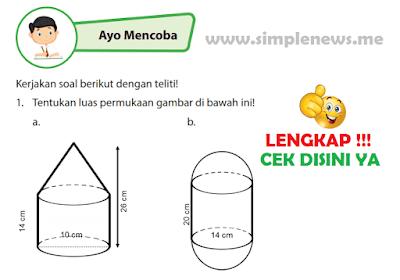 Kunci Jawaban Buku Senang Belajar Matematika Kelas 6 Halaman 131, 132, www.simplenews.me