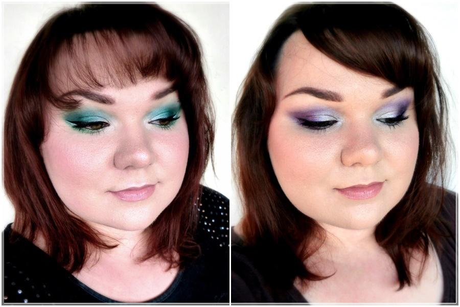 farbige Augen Make-ups