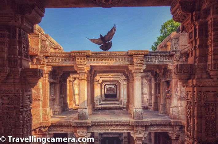 While in Ahmedabad city of Gujrat, we planned a day trip tp Patan for seeing UNESCO World Heritage site Rani ni Vav which is also used on Indian 100 rupee note. On the way, we also thought of taking a detour through Adlaj ni Vav, which is a beautiful stepwell and a popular tourist place in Gujrat. This blogpost shares more about Adlaj ni Van, what makes it special, tips to make this trip special and a lot more, which some surprising facts.