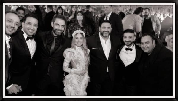 حفل زفاف المطرب نادر حمدي وسارة وسط حضور كبير