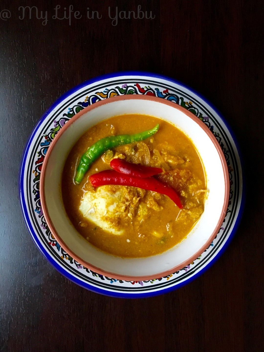 Poached Egg Curry