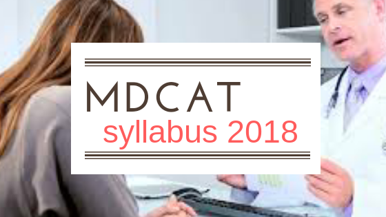 MDCAT uhs syllabu 2018