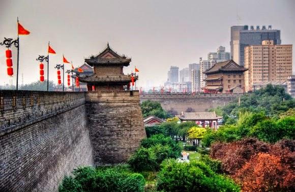 Resultado de imagem para muralha de xian