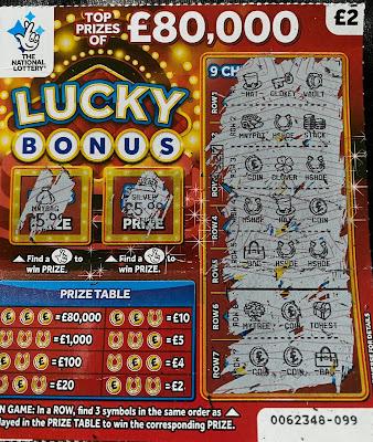 £2 Lucky Bonus