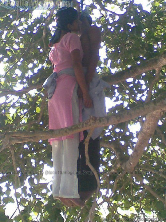 Girl being hung