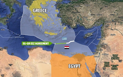 Egypt's president signs strategic maritime deal with Greece