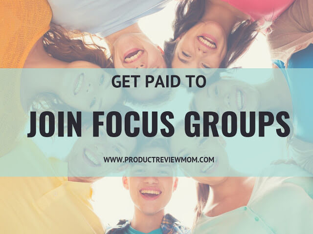 Get Paid to Join Different Focus Groups in Your Area  via  www.productreviewmom.com