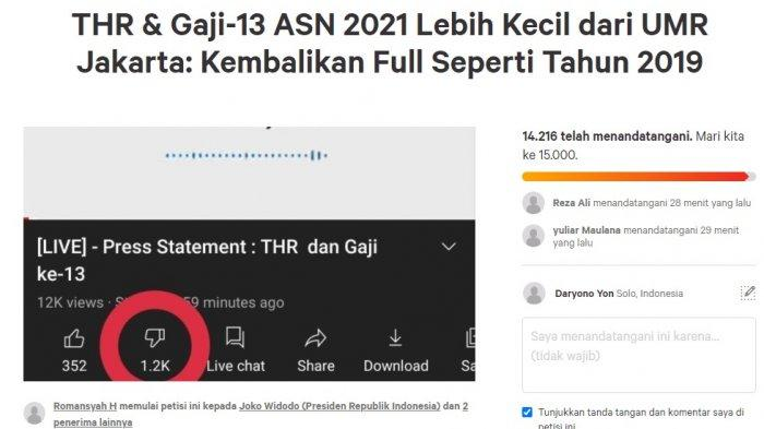 "Sri Mulyani Dianggap ""Ingkar Janji"", Muncul Petisi Online Tuntut THR 2021 PNS/TNI/Polri Dibayar Penuh"