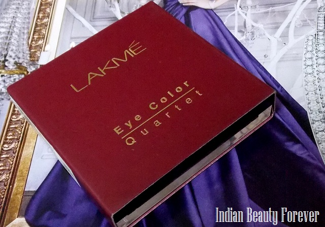 Lakme Eyeshadow Quartet Tanjore Rush Review