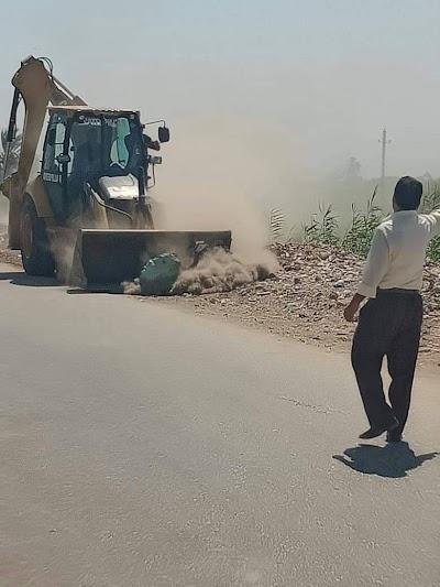 رفع 20 طن قمامة بقرية الصلعا في سوهاج