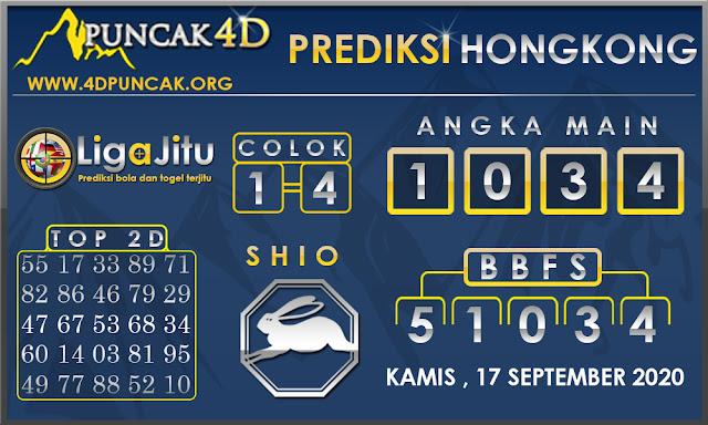 PREDIKSI TOGEL HONGKONG PUNCAK4D 17 SEPTEMBER 2020