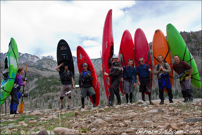 The Crew, Cruise Quenelle, Joel Cameron, Tony Miley, Dave Farkas, Sasha Stauffer, Eric Munroe, Drew Beezley, and Chris Baer, CO, colorado, durango kayak, 3 gorge lime, third gorge, animas, canyon creek, cascade creek
