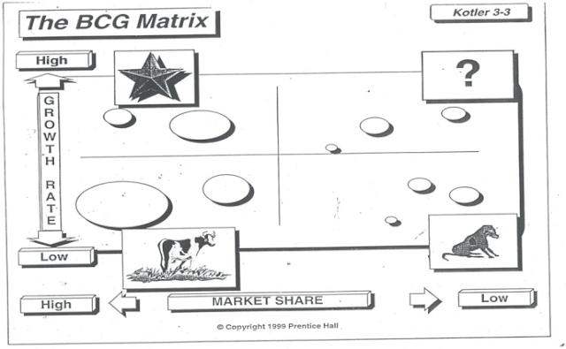 BCG SHARE MATRIX