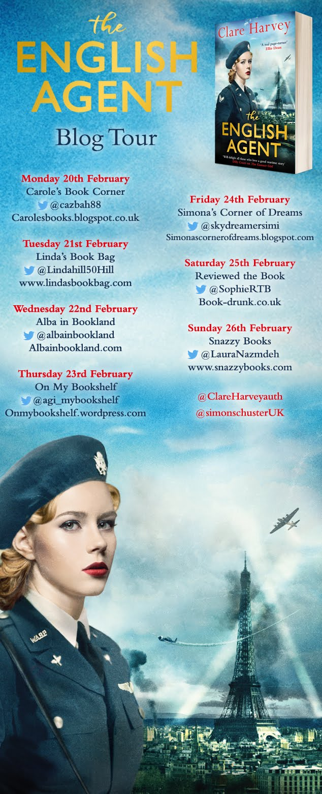THE ENGLISH AGENT BLOG TOUR