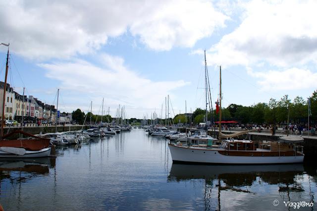 Il bel porto turistico di Vannes