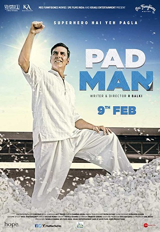Padman 2018 Hindi 999MB DVDRip 720p