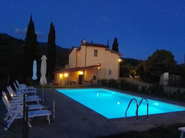 casa vacanze con piscina in toscana