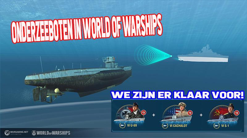 onderzeeboot en kapiteins