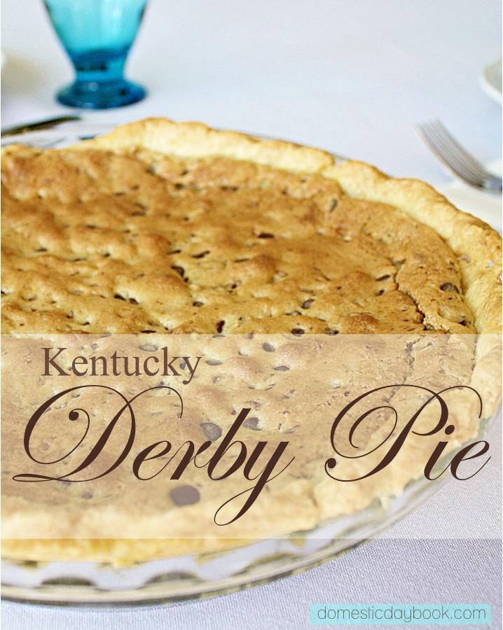 Kentucky Derby Pie recipe