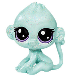 Littlest Pet Shop Series 2 Sparkle Pets Shimmer Monkeyton (#2-S8) Pet